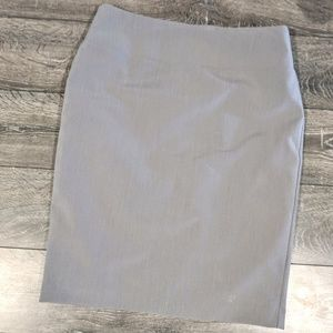 Light grey pencil skirt size 6